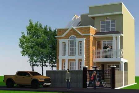 Mini Banglo house on sale in Imadol Lalitpur